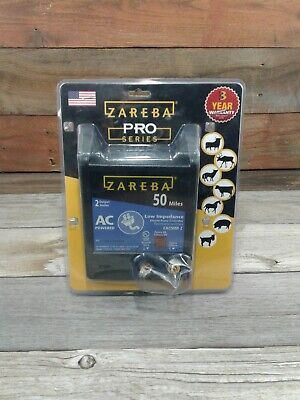 Zareba Pro Series Low Impedance Electric Fence Controller 50 Miles