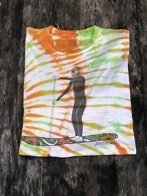 QUICKSILVER Waterman Collection - Tie-Dyed Sugar Skull Paddle Boarder T-Shirt