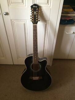 Ibanez 12-String Electro-Acoustic Guitar w/ Hard Case