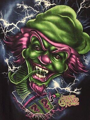 Halloween Shirt Insane Clown Posse T Shirt Black Jack In The Box Size XL