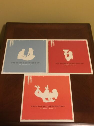 Dashboard Confessional Vinyl EP Trilogy So Impossible Summers Kiss Spider Man 2