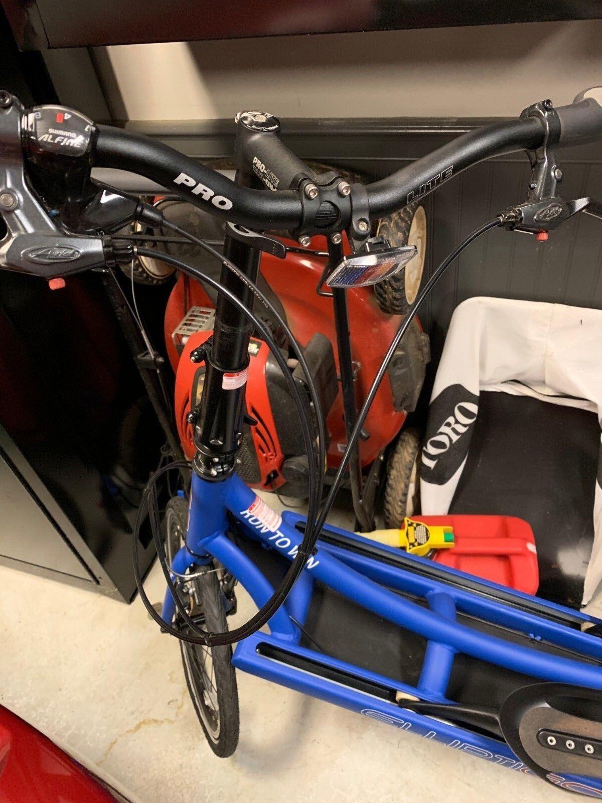 c8f79b87dc4 Elliptigo Meb 8S Elliptical Bike *RARE*