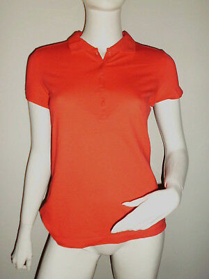 T-SHIRT POLO FEMME S.OLIVER ROUGE MANCHE MI-COURTE TAILLE 38