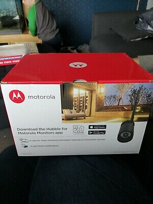 MOTOROLA Focus 72 Outdoor WiFi HD Camera Home Security