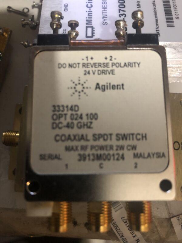 33314D Coax Switch Agilent 40GHz