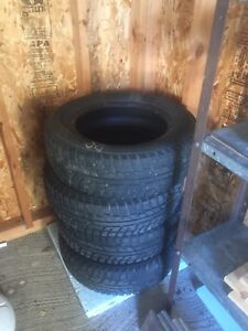 Winter tires Kumho 195/65/15. Came off Honda Civic
