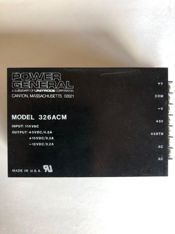 Power General 326ACM
