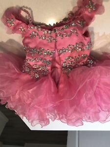 Beautiful pink dress for the little ones
