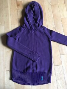 Ivivva purple sweater size 12
