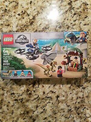 LEGO Jurassic World Dilophosaurus on The Loose 75934 - Damaged Box