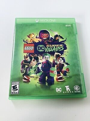 XBOX ONE LEGO DC SUPER VILLAINS TESTED VG Condition FAST SHIP Batman Superman +