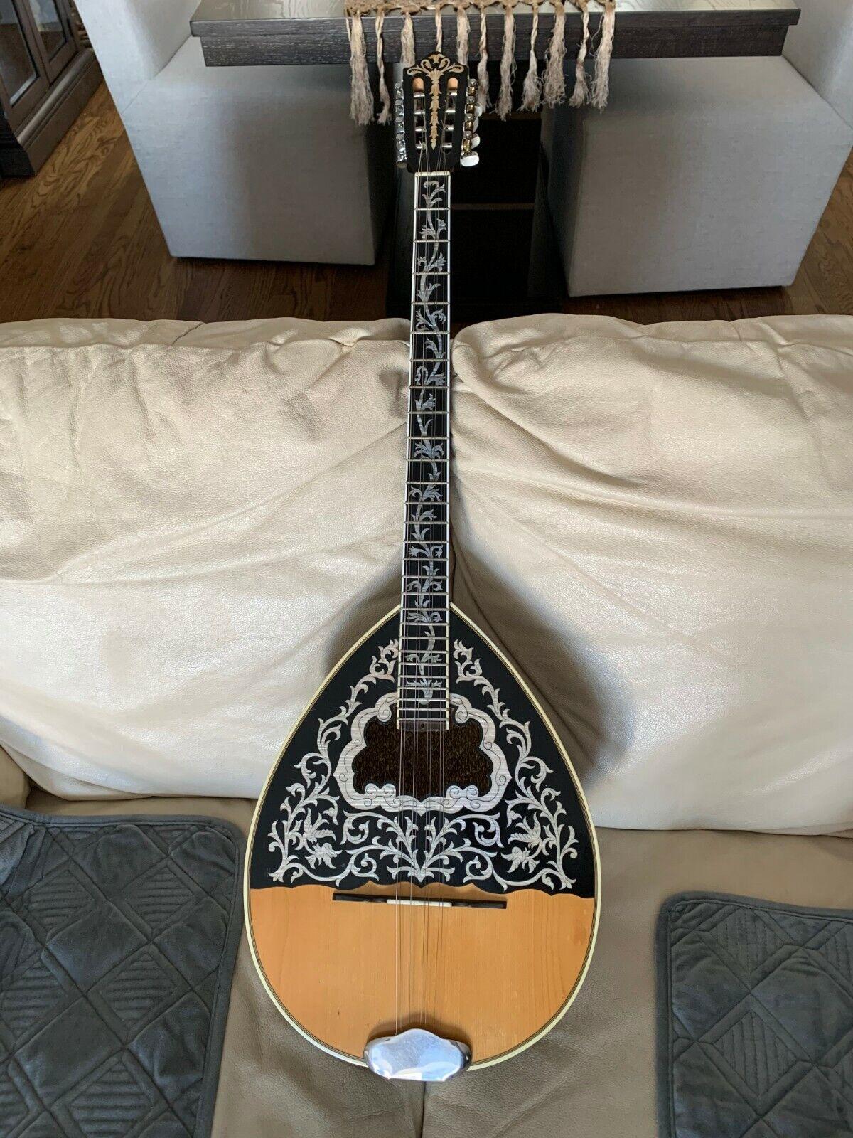 Greek Bouzouki Professional Instrument Custom Made - $750.00