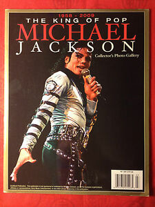 1958-2009 KING OF POP MICHAEL JACKSON COLLECTOR&#039;S PHOTO GALLERY MAGAZINE - <span itemprop=availableAtOrFrom>Gdynia, Polska</span> - 1958-2009 KING OF POP MICHAEL JACKSON COLLECTOR&#039;S PHOTO GALLERY MAGAZINE - Gdynia, Polska