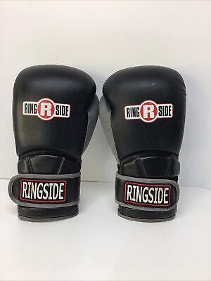 Ringside Safety Sparring Boxing Gloves 14 oz Black Large
