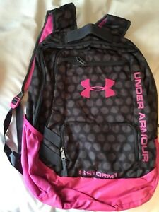 Under armour and toots backpacks