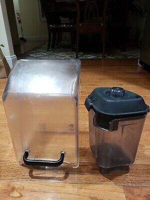 Commercial Vitamix Blending Enclosure 32oz Blender Container Blade Lid