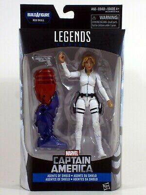 """Marvel Legends 6"""" SHARON CARTER Figure right torso Red Skull Onslaught BAF wave"""