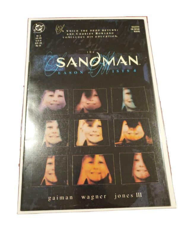 Sandman #25 VF+ DC. Key issues 1st DEAD BOY DETECTIVES to appear in DOOM PATROL