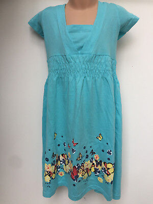 BLUE / GREEN / DARK GREEN LONG DRESSES WITH BUTTERFLY FOR GIRLS AGE 7 - 16 YEARS - Formal Dress For Girls 7-16