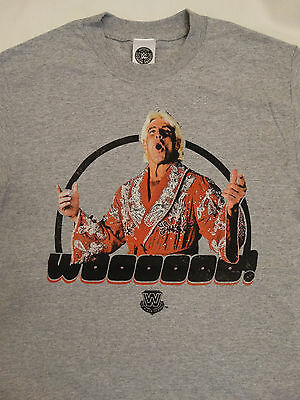 Ric Flair Wearing Robe Woooo Wrestling Officially Licensed WWE T-Shirt