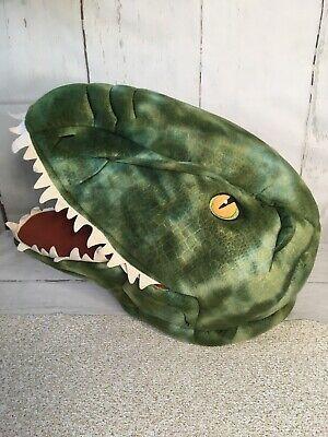 Dan Dee Green Dinosaur Head T Rex Large Costume Halloween Mask Cosplay Theater