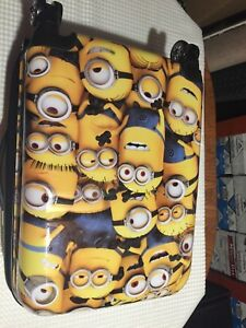 """Brand New Minions 21"""" Hardtop Spinner Carry-On Suitcase/Luggage!"""