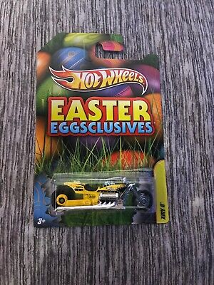 2012 HOT WHEELS Airy 8 Easter Eggsclusives Cycle Yellow  BRAND NEW