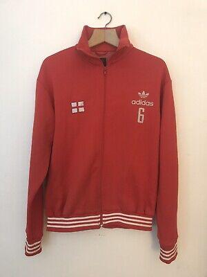 Vintage 90's Adidas Originals Jacket England Bobby Moore #6 Size L