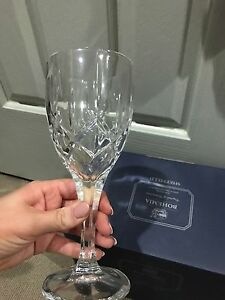 Bohemia Crystal Sheffield Wine Glasses Lutwyche Brisbane North East Preview