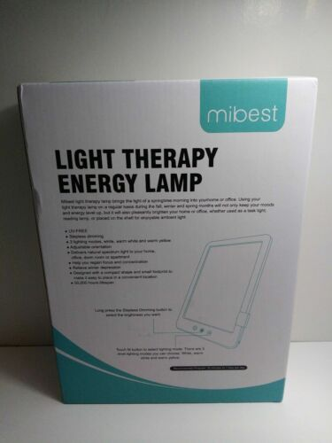 Mibest Portable Light Therapy Energy Lamp   M10;