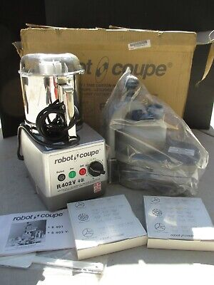 New In Box Robot Coupe R402v Food Vegetable Processor
