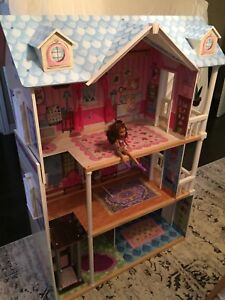 Large wooden Barbie doll house