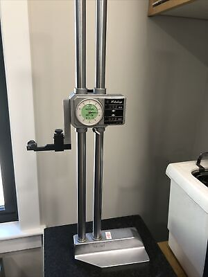 Mitutoyo 24 .001 Height Gage No.192-114 Mechanical With Digit Count