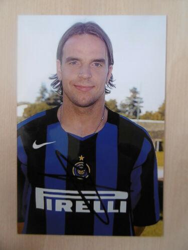 "Andy van der Meyde ""Inter"" Autogramm signed 10x15 cm Bild"