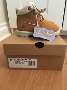 Brand new with tags and box toddler timberlands size 8