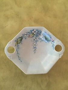 Vintage 1950's Royal Winton Grimwades blue brocade dish Banora Point Tweed Heads Area Preview