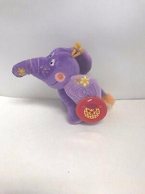 Purple Elephant Stuffed Animal (Purple  6