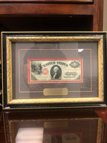 1917 Saw Horse Back Dollar Framed