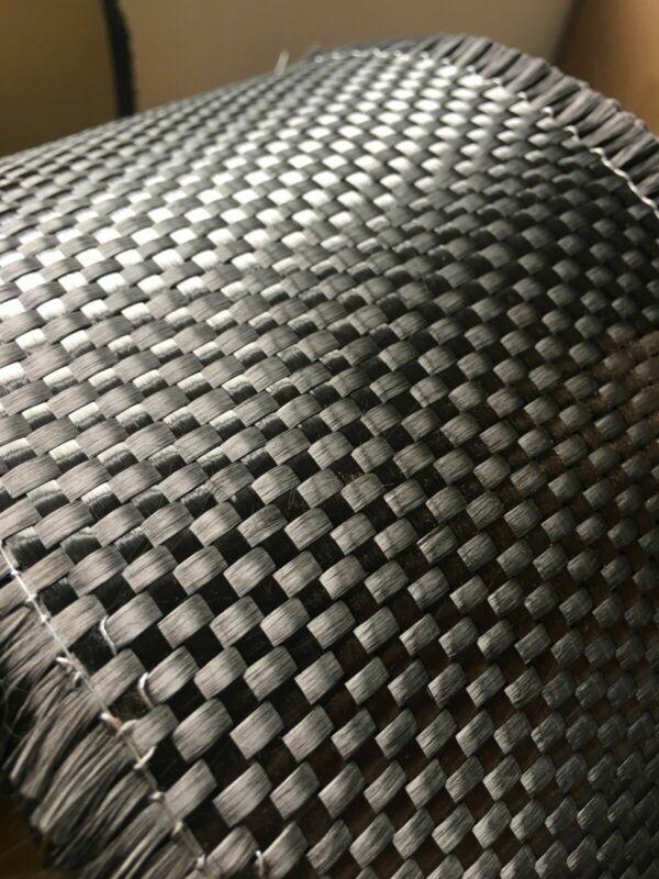 """High-Quality Real Carbon Fiber Cloth Plain Carbon Fabric12""""/30cm wide12K 480gsm"""