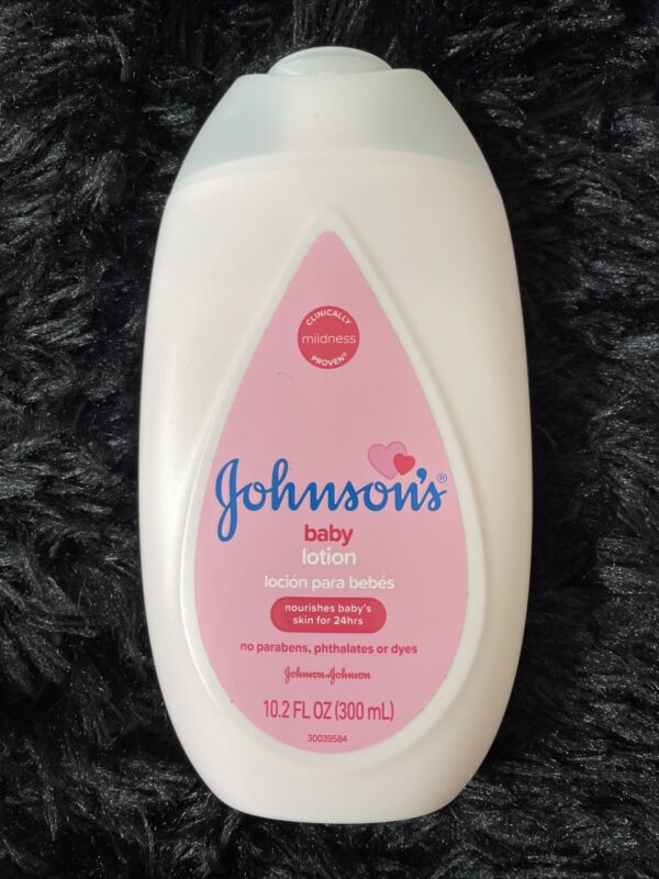 Johnson's Baby Lotion No Parabens Nourishes Skin For 24hrs 10.2oz / 300 ml NEW!!