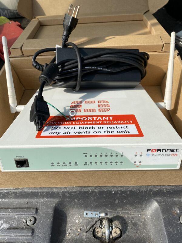 Fortinet FortiWiFi 90D FWF-90D Firewall