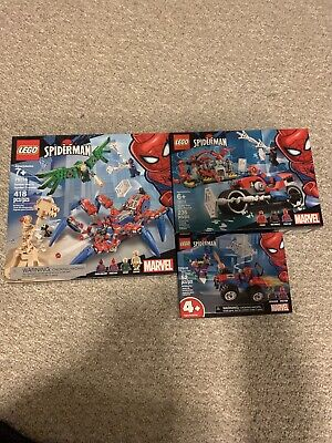 LEGO 76114 Spiderman's Spider Crawler 418 Pcs NEW IN BOX
