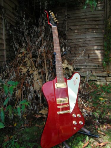 Tokai Firebird Electric Guitar - Metallic Candy Apple Red - Flawless