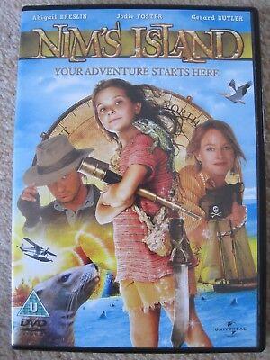 Nim's Island DVD, 2008, Jodie Foster, Abigail Breslin, Gerard Butler - VGC segunda mano  Embacar hacia Argentina