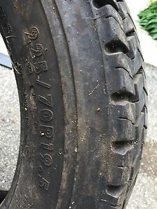 Full tread on this 5500 truck tire 225/70r19.5