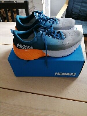MENS HOKA ONE ONE MACH 2 RUNNING TRAINERS SIZE 10 UK. ONLY WORN ONCE.
