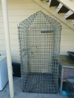 Large solid bird cage. For sale