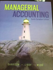 Managerial Accounting book with Connect