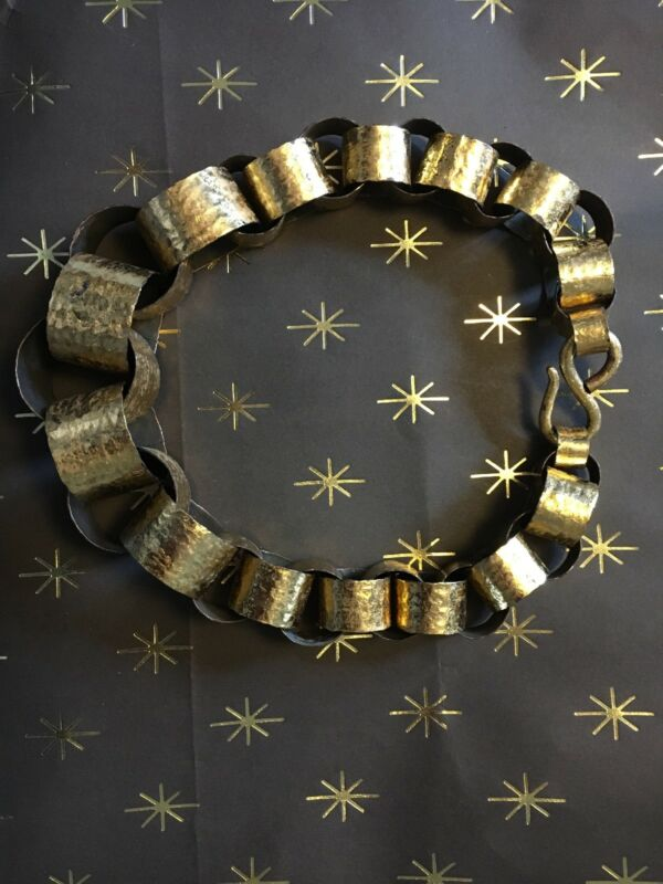 MONIES massive Gold Foil gerda lynggaard Necklace