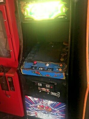 Galaga Classic 1981 Arcade Machine. Great Shape Nice Cabinet.Controls are great!, used for sale  Wichita